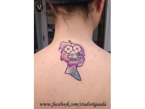 Tatuaje watercolor guadalaja