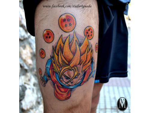 Tatuaje Goku