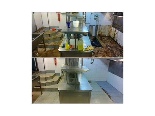 Limpieza de cocinas industriales