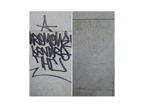 Eliminación de graffiti
