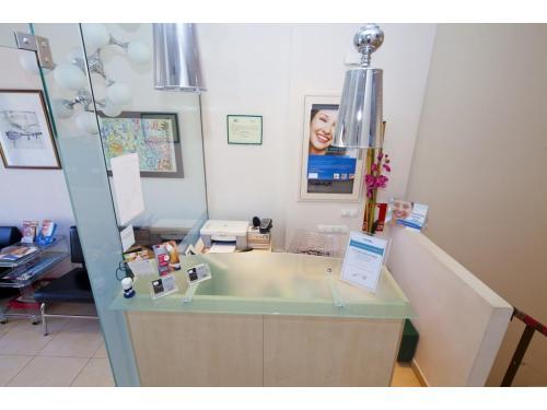 Recepción de la Clínica Dental Infante Don Luis
