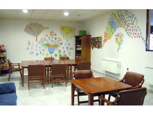 Sala de actividades Residencia San Sebastián