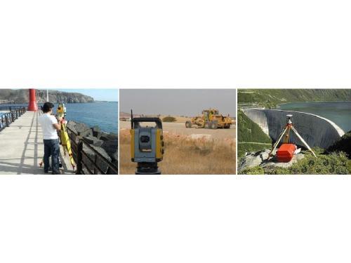 Movimiento de tierras, cubicaciones, replanteos en obra, colocación de bases topográficas, cálculos y trabajos de apoyo, encaje de proyectos...