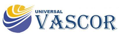 logotipo universal vascor