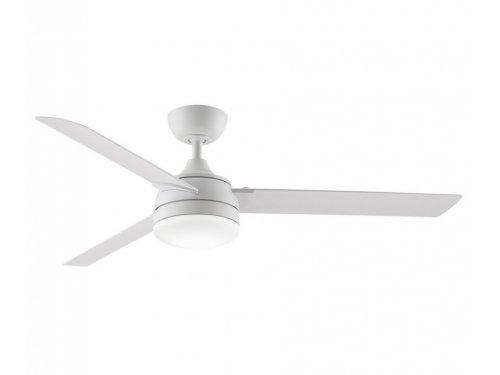 CASa BRUNO Xeno outdoor ventilador de techo Ø 142 cm con/sin luz, blanco mate, para zonas mojadas
