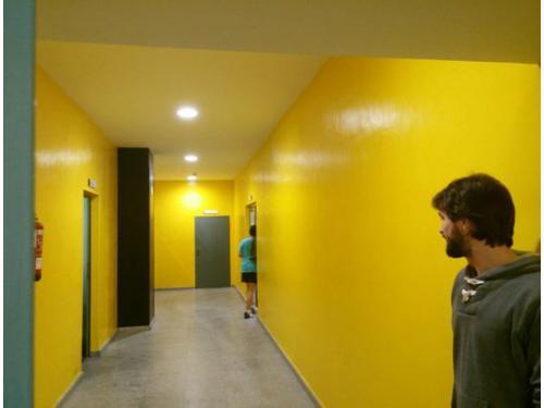 Reformas de interior: ampliación de gimnasio