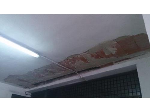 Reformas de interior: reforma de techo en entrada de garaje