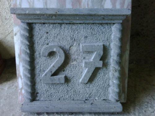 Número tallado