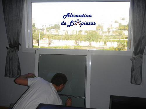 Limpieza de ventanas