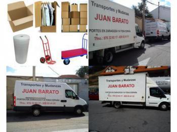 Transportes y Mudanzas Juan Barato