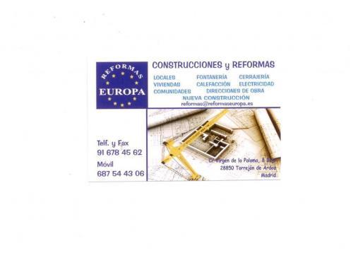 Reformas europa torrej n de ardoz reformas citiservi for Reformas torrejon de ardoz
