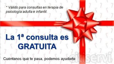 Primera consulta gratuita, para citas de Psicología infantil, adultos o parejas.
