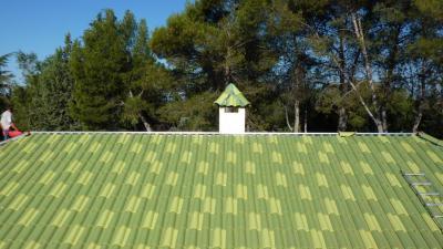 Porque el tejado es el paraguas de su casa Cuidelo. Confíe la cubierta en manos profesionales.  Hasta 30 años de garantía
