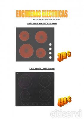 ENCIMERA INDUCCION BAJO CONSUMO 499 eur