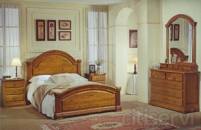 dormitorio en castaño macizo descuentos en muebles de exposicion