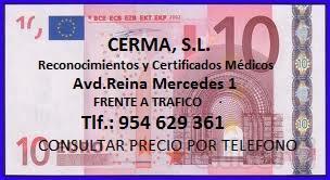 VALE POR 10 € DE DESCUENTO en Informes medico-psicotécnicos y Certificados Médicos Oficiales.