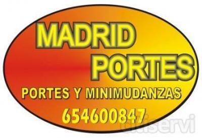PORTES BARATOS MADRID**654.600847**SOFAS, NEVERAS, ETC