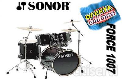 Batería Sonor Force 1007 y escoge tu regalo