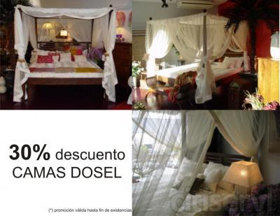 30% DESCUENTO EN CAMAS DOSEL