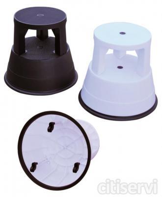 Taburete Estable Tiene un diámetro superior: 27.5cm y de base de: 41.5cm, altura: 37cm es estable, ligero y compacto de plástico. Es desmontable en dos piezas de fácil manejo. Su  tamaño es pequeño, lo que te permite guardarlo en cualquier lugar.