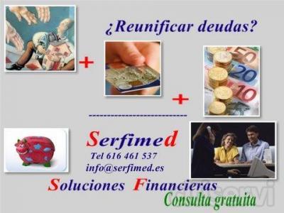 Hipotecas y préstamos en Valencia. Serfimed le facilita la obtención de todo tipo de préstamos y operaciones financieras, tales como hipotecas, créditos, hipotecas con ASNEF o sin justificación de ingresos, reunificación de deudas, capital privado,