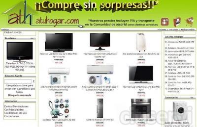 Venta de electrodomesticos on line Madrid