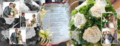Reportaje completo fotográfico de boda, realizado por fotógrafos profesionales. Se entrega dvd con todas las imágenes tomadas a alta calidad.