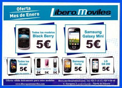 Después de las fiestas, tienes un móvil y quieres liberarlo, pues esta es tu oportunidad. Excelente oferta en tienda.