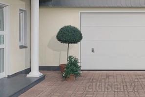 Disponemos de puertas seccionales de garaje, la mas amplia gama de puertas. Elige tu modelo. Las puertas seccionales de garaje están construidas en panel sándwich de acero de la máxima calidad. Cada puerta seccional está rellena de aislamiento té