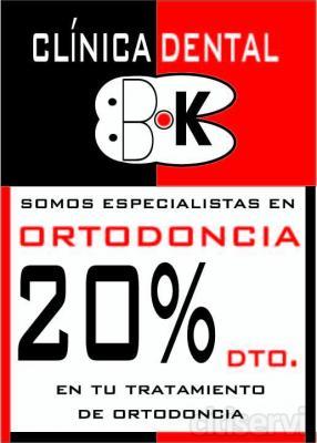 Descuento del 20% en tu tratamiento de Ortodoncia. Acércate a