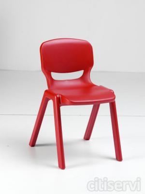 Oferta hasta fin de existencias de la Silla Ergos. Silla de polipropileno de pared doble de alta densidad, 100% reciclables. Fabricada en una sola pieza. Son faciles de limpiar, seguras, facilmente transportables y apilables hasta 10 sillas.   Muy estab