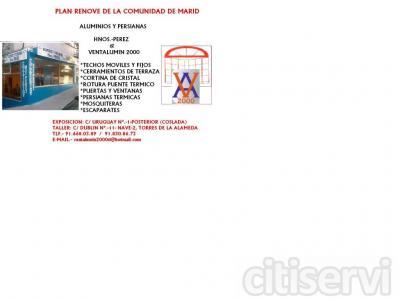 Plan Renove de la Comunidad de Madrid