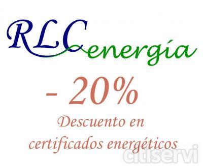Descuento del 20% sobre el precio de los certificados energéticos a los clientes que contacten a través de plataforma Citiservi.