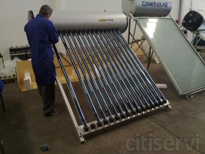 Las palmas equipo solar termosifon tubos de vacio de 150 for Oficinas mapfre las palmas