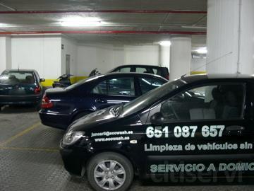 Ecowash, Servicio de limpieza de coches para Comunidades de vecinos.