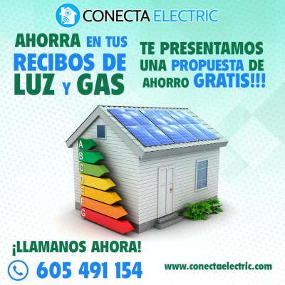 Análisis de tus Facturas de Electricidad y Gas, para que aprendas a pagar lo mínimo por tus suministros Energéticos.  Consulta y Estudio Gratuito