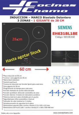 Induccion Siemens por 449€