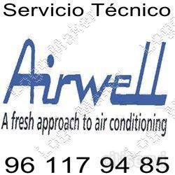 Servicio técnico Airwell Valencia Reparacion Instalacion Presupuesto  Necesita una empresa que realice su servicio técnico Airwell en Valencia? Llámenos al 96 117 94 85 y enviaremos a un Técnico a su Domicilio a realizar la reparación de su electr