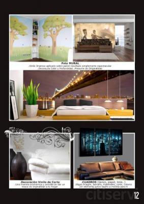 50 € Descuento para tu Decoración de interiores y murales
