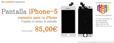 iPhone 5 Pantalla Completa:   Pantalla LCD Display + Pantalla Táctil (cristal con digitalizador) + Marco de Carcasa