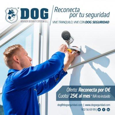 Ahora, con DOG Seguridad, reconectar tu alarma nunca ha sido tan fácil.   No te costará nada reconectar tu alarma. Sólo tendrás que llamar a DOG y conectar tu antigua alarma con nosotros.  Además, ganarás en tranquilidad.   ¿Hablamos?