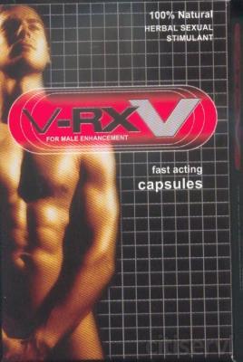 V-rx V es la alternativa herbaria principal a Viagra. A diferencia de las medicinas de prescripción, V-rx utiliza ingredientes naturales para ayudar en problemas de erección, para mejorar la estamina y su funcionamiento, y para alzar el impulso sexual.