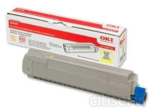 Tóner de Impresoras OKI Disponible para la serie C700 que incluye las impresoras: C7200 y C7400 Disponible en color: AMARILLO Uso estimado para 10.000 páginas