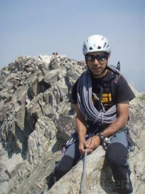 Escalada en crestas Pirenaicas