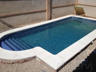 Piscina 7 x 3 m gunitada via humeda desde for Coronacion de piscinas precios