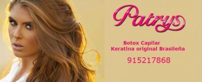 Alisado con Keratina sin formol  o tratamiento de recostrucion capilar botox