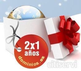 2x1 en dominios .es