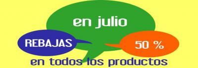 50 % de descuento sobre el precio habitual de todos nuestros productos iva excluido, en www.senssaciones.es