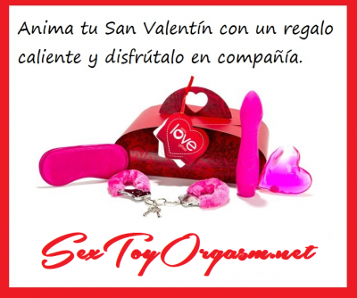 En SexToyOrgasm tenemos un oferta especial por San Valententín hasta el 14-02-2018.  TODOS los artículos de nuestra tienda tienen un 10 de DESCUENTO.   Elige ya tus regalos más sensuales para tenerlos el día más señalado por todas las parejas. Seguro que