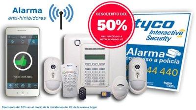 Obtén un descuento del 50% para la instalación del sistema de alarma en tu vivienda o negocio.